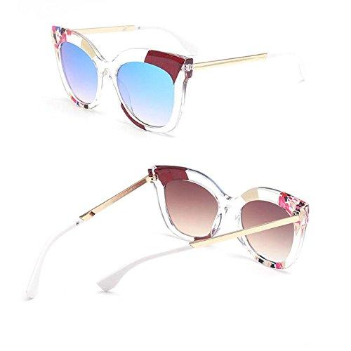 moda C de polarizadas personalidad de gafas de mujeres ULTRAVIOLETA anti Alger las la sol Gafas Zqn6azx0p