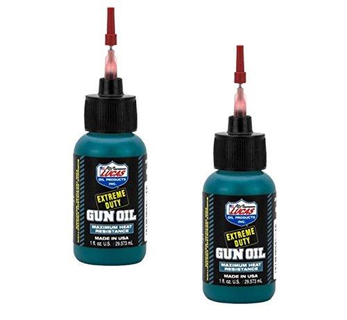 2 - LUCAS Extreme Duty Gun Oil 1oz Needle Oiler by Lucas