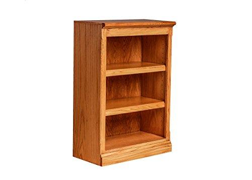 Forest Designs Mission Oak Bookcase: 24W X 30H X 13D 30h Honey Oak
