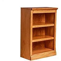 Forest Designs Mission Oak Bookcase: 24W X 48H X 13D 48h Honey Oak