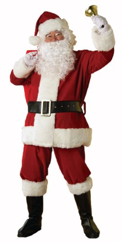 Regal Plush Santa Suit Adult - Mall Stores Music City