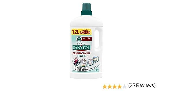 Sanytol Desinfectante Textil Sin lejía - 1200ml: Amazon.es: Salud ...