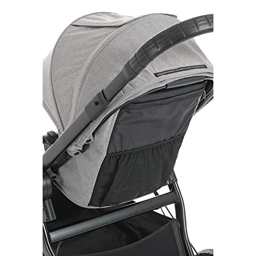 Baby Jogger City Select LUX Stroller | Baby Stroller with 20 Ways to Ride, Goes from Single to Double Stroller | Quick Fold Stroller, Slate