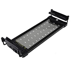 """This High Lumen Upgraded Cool White and Blue LED Aquarium Light for your 11""""-18"""" aquarium enhanced aquarium illumination. Aquarium LED panel provides light that has the similar effect as the natural sunlight and therefore offers a very good g..."""