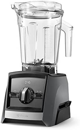 Vitamix A2300 Ascent Series Smart Blender, Professional-Grade, 64 oz. Low-Profile Container, Slate