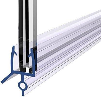 uenjoy Junta para mampara de ducha baño puerta Gabinete curvado soporte de para 6 mm de cristal 4 – 10 mm, Lagunas, Gap Length: 10mm: Amazon.es: Hogar