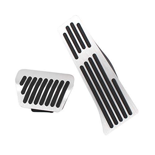 (XtremeAmazing Anti-Slip Aluminium Alloy Accelerator Gas Brake Foot Pedal Cover Cap Pad)