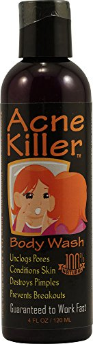 Fresh Beauty Acne Killer Body Wash - 4 Fl Oz