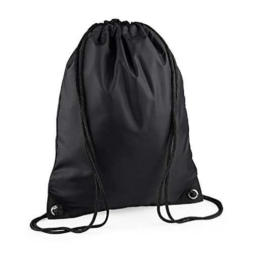 Colours BagBase shoulder Retro Black Zipped bag Strap Pocket Unisex zrqzEwO6