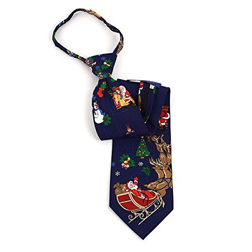 Christmas Zipper Tie - 9