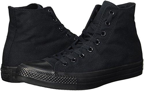 Converse Allstar Hi Mono Canvas Sneaker, M3310, Schwarz , 9 B(M) US Women / 7 D(M) US Men