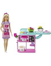 Barbie Yrken lekset med dockor, leksaker från 3 år