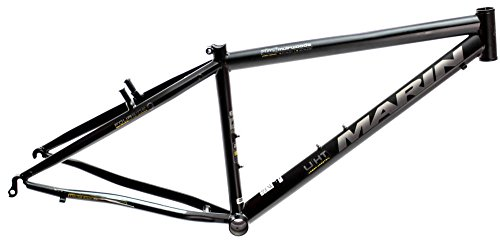"15"" MARIN MUIRWOODS 26"" Urban City Bike Frame Black Chromoly E2 Tubing NOS NEW"