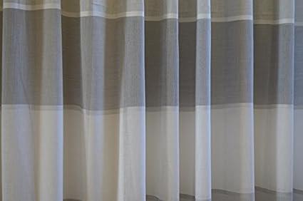 Tende Per Interni Cucina : Tenda per interni a metro colore bianco latte e grigio art arianna