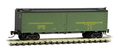 Micro-Trains MTL Z-Scale 40ft Wood Reefer Car Canadian National/CN #10332