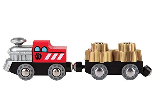 Hape Kids Wooden Railway Working Cogwheel (Cog Wheel Train)