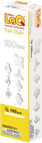 라 큐 (LaQ) 자유형 (FreeStyle) 100 화이트 / LaQ Freestyle (FreeStyle) 100 White