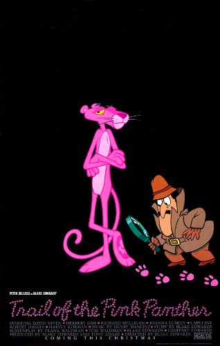 Pop Culture Graphics Trail of The Pink Panther Poster Movie B 11x17 Peter Sellers David Niven Herbert Lom Capucine