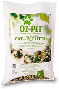 Oz-Pet All Natural Cat and Pet Litter, 15kg