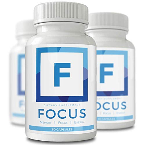 Focus and Memory Nootropics Supplement - Neuro Boost/Brain Booster for Peak Energy, Mental Clarity & Concentration - Smart Mental Health Support Supplements That Factor in Your Busy Lifestyle! (60)