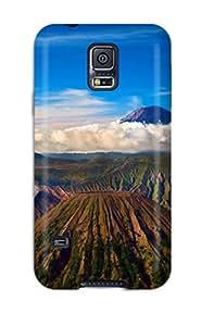 New Style New Style TashaEliseSawyer Hard Case Cover For Galaxy S5- Stratovolcano Bromo 1968032K88291276