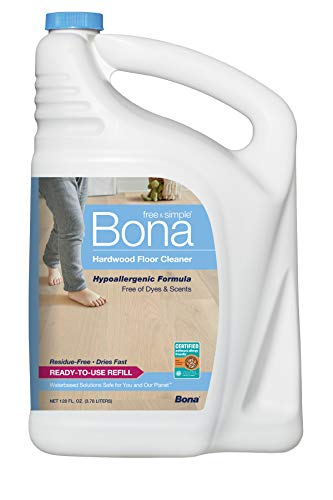 Bona Free & Simple Hardwood Floor Cleaner Refill, 128 oz