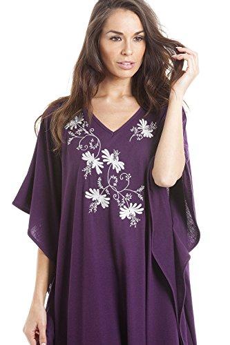 Camille - ropa de dormir Camisón para Mujer de color Morado de talla Morado