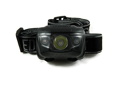 Centerfield Sports CS700 Flashlight Waterproof LED Headlamp - Black