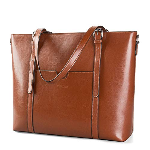 Genuine Leather Shoulder Handbag Enmain
