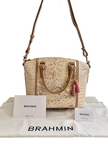 Top Duxbury Brahmin Satchel Handle Creme Convertible Este Bag qgO1w7Odt