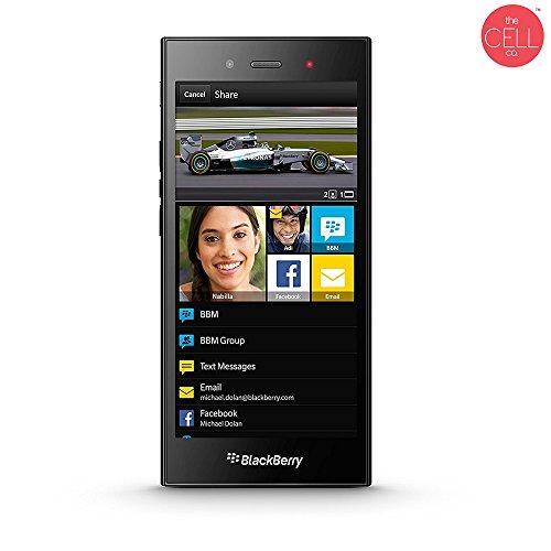 BlackBerry STJ100-1, Z3 Factory Unlocked Touchscreen, Long-Lasting Battery Smartphone, 5MP Camera, 8 GB – Black