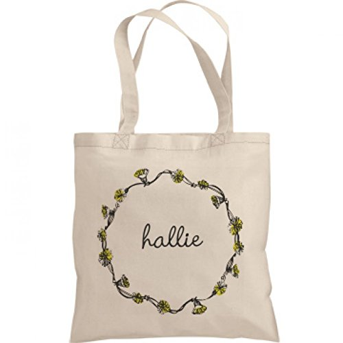 Trendy Dandelion Hallie: Liberty Bags Canvas Bargain Tote Bag