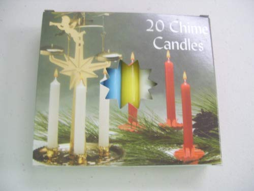 Mini 4'' Chime Spell Candle Magick Set: 20 Candles - 10 Assorted Colors!