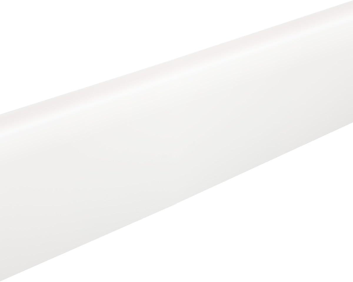 Resopal K/üchenarbeitsplatten Umleimer 1.32 /× 40mm /× 0.6mm WORKTOPEXPRESS Wei/ße