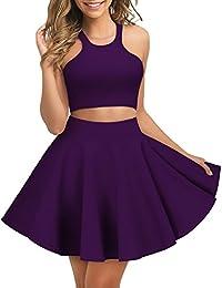 Regna X Womens Flare A Line Skirt 2 piece and Skater...