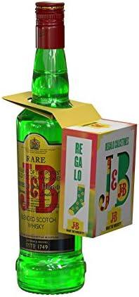 J&B Rare Whisky Escocés Pack con Calcetines de Regalo, 700ml