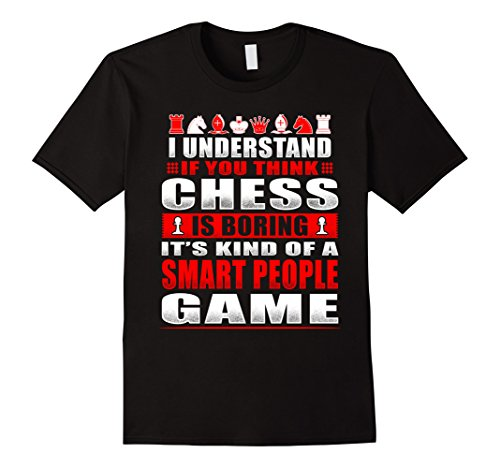 Mens Funny Chess Shirts Kind Of Smart People Game For Ner...