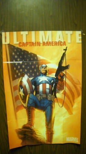 Último Póster de Capitán América - Ron Garney: Amazon.es: Hogar