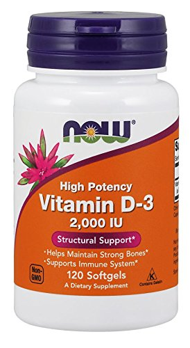 Vitamin D 2000 IU 120 softgels