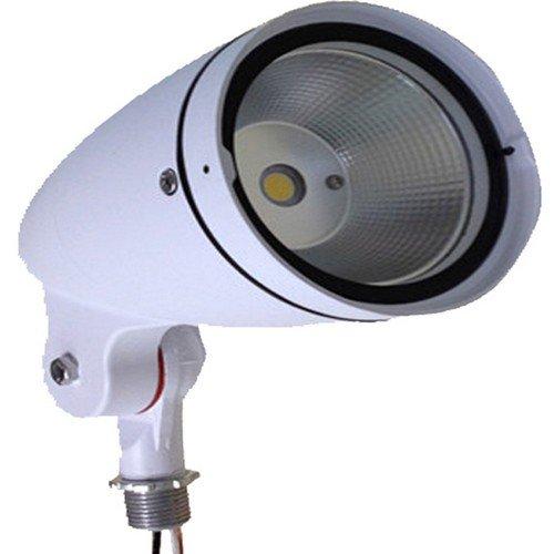 Morris 71373 LED Bullet Floodlight, 12W, 5000 K, 8014 lm, 120-277V, White