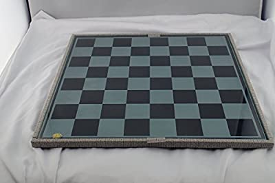 Kusak Cut Glass Works Hand Made Chess Set