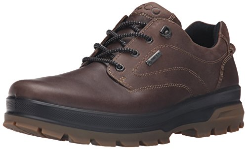 ECCO Men's Rugged Track GTX Tie-M, Dark Clay/Coffee, 43 EU/9-9.5 M US