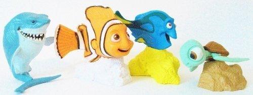 Disney Finding Nemo Figure Set Cake Topper Decorations ()