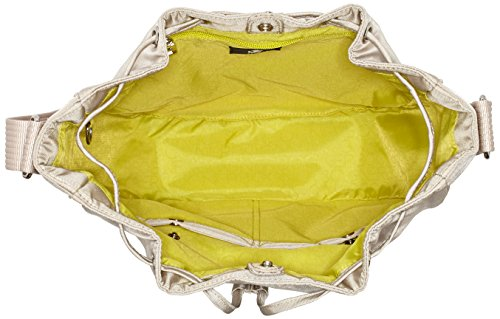 Bogner Tinra - Bolso de hombro Mujer Beige (Shell)