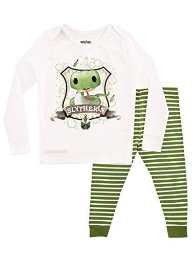 Slytherin Baby Clothes (HARRY POTTER Kids' Slytherin Pajamas Green Size)