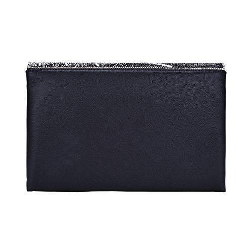 VavaboxClutch Bag - Cartera de mano Mujer negro