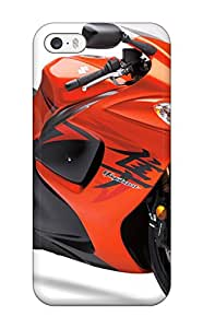 Hot 2388781K50152423 Premium Tpu Suzuki Hayabusa Orange Bike Cover Skin For Iphone 5/5s