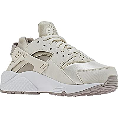 Nike Womens Air Huarache Run Training Running Shoes Beige 6.5 Medium (B,M)