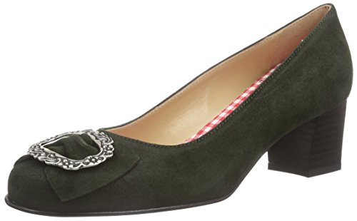 Diavolezza Celine, Women's Closed-Toe Pumps Grün (Loden)