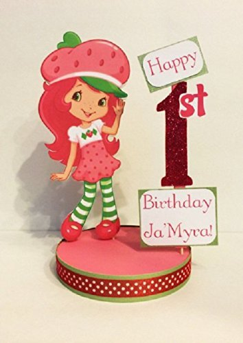 Sensational Amazon Com Strawberry Shortcake Centerpiece Cake Topper Handmade Funny Birthday Cards Online Elaedamsfinfo